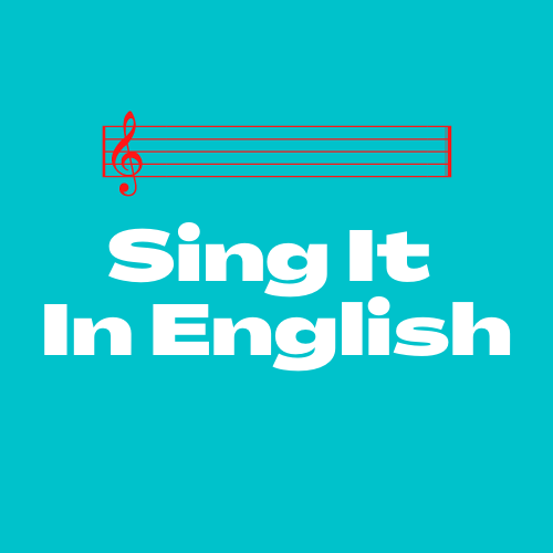 Sing It In English 1-on-1