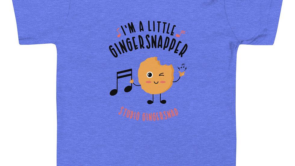 """I'm a Little Gingersnapper"" Toddler Tee"