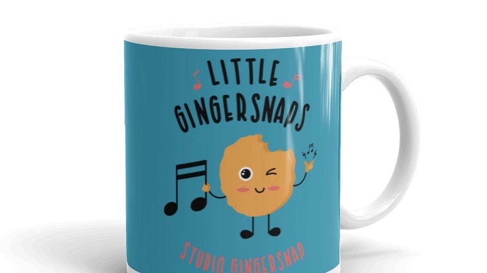 Little Gingersnaps Mug (Turquoise)