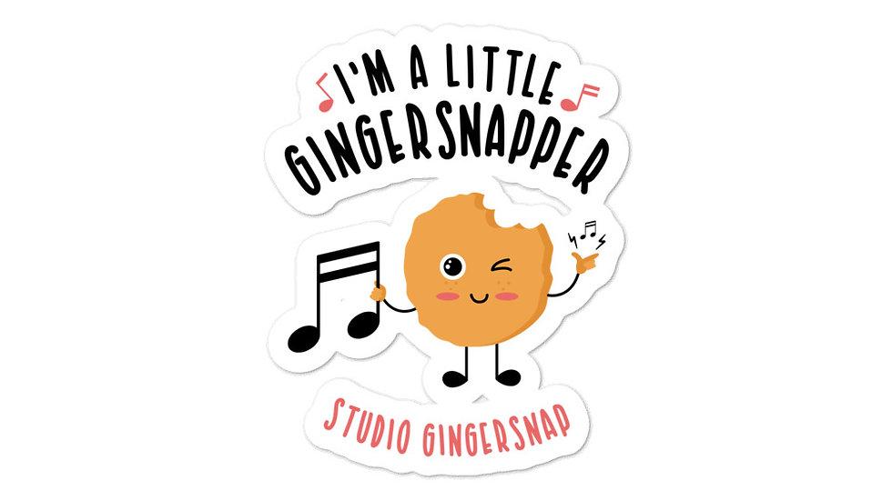 Little Gingersnap Stickers