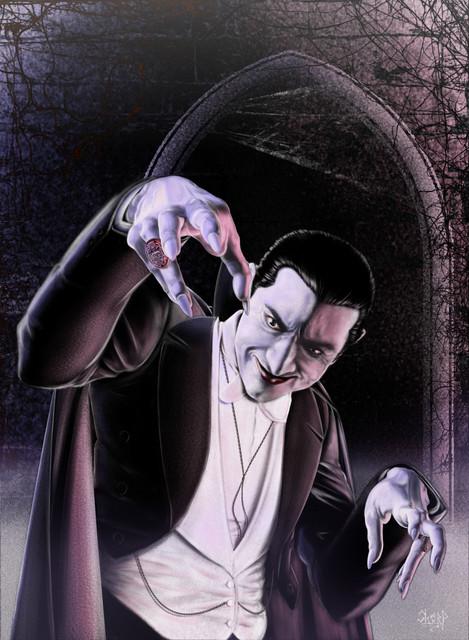 Bela Lugosi-Dracula