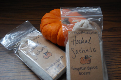 Herbal Sachet with Pumpkin Spice