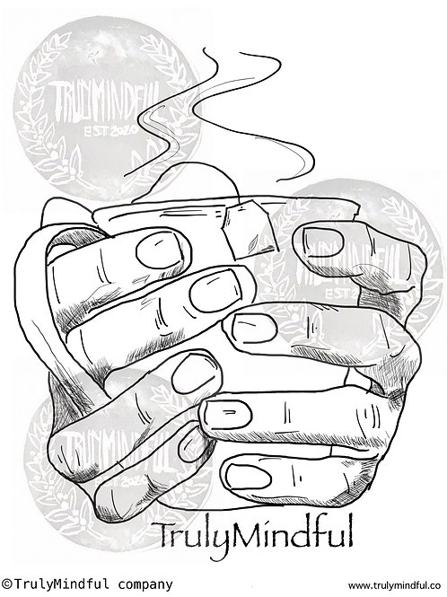 Tea Cup Coloring Page