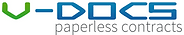 V-Docs Paperless Contracts Logo