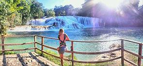 Cascadas de Agua Azul en Chiapas Tours