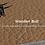 Thumbnail: Wooden Bull leder en kurk platenspeler mat.