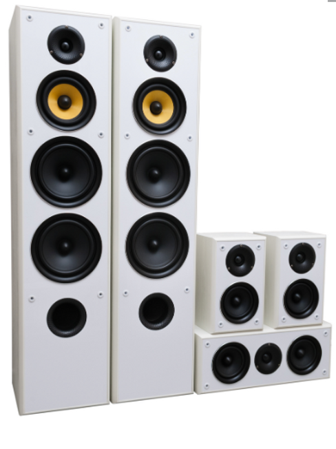 TAV -606 v.3 luidspreker set WIT