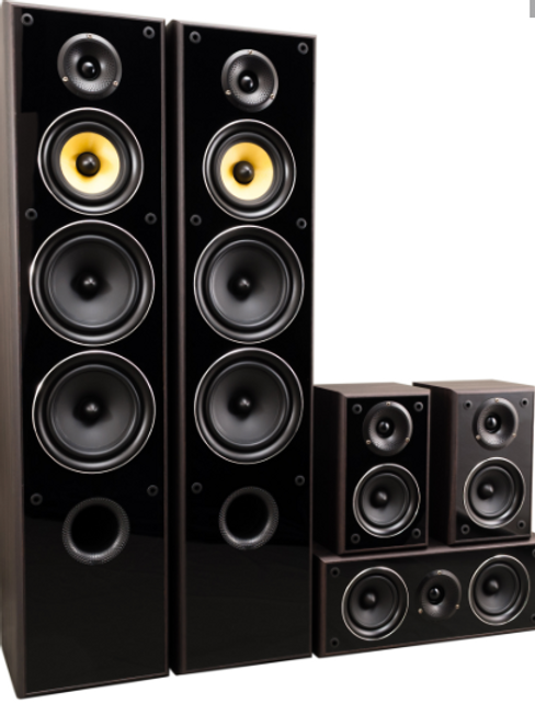 TAV -606 v.3 luidspreker set ZWART