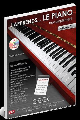 J'apprends Le PIANO - Vol2 Christophe Astié