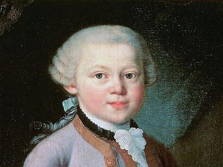 Mozart : enfant prodige