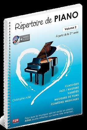 Répertoire de PIANO Vol 2 Christophe Astié