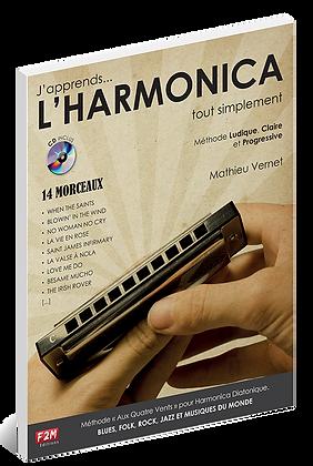 J'apprends L'HARMONICA Mathieu Vernet
