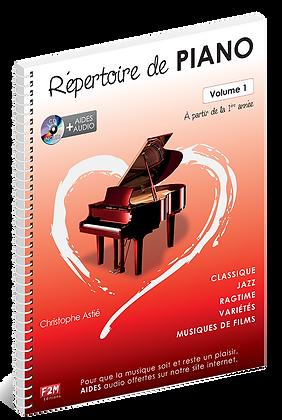 Répertoire de PIANO Vol 1 Christophe Astié