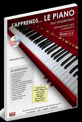 J'apprends Le PIANO - Vol 1                Christophe Astié