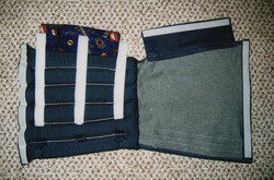 Gaitor with Denim & Cover Flap