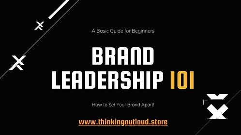 Brand Leadership 101