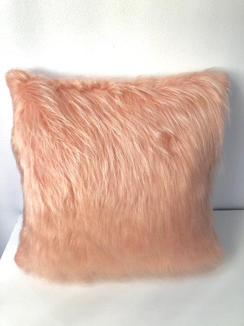 Capa almofadas pelúcia