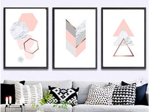 Trio Rosé Nordic Design