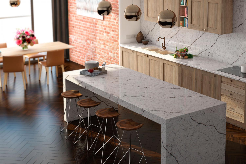 Столешница, стеновые панели, стол