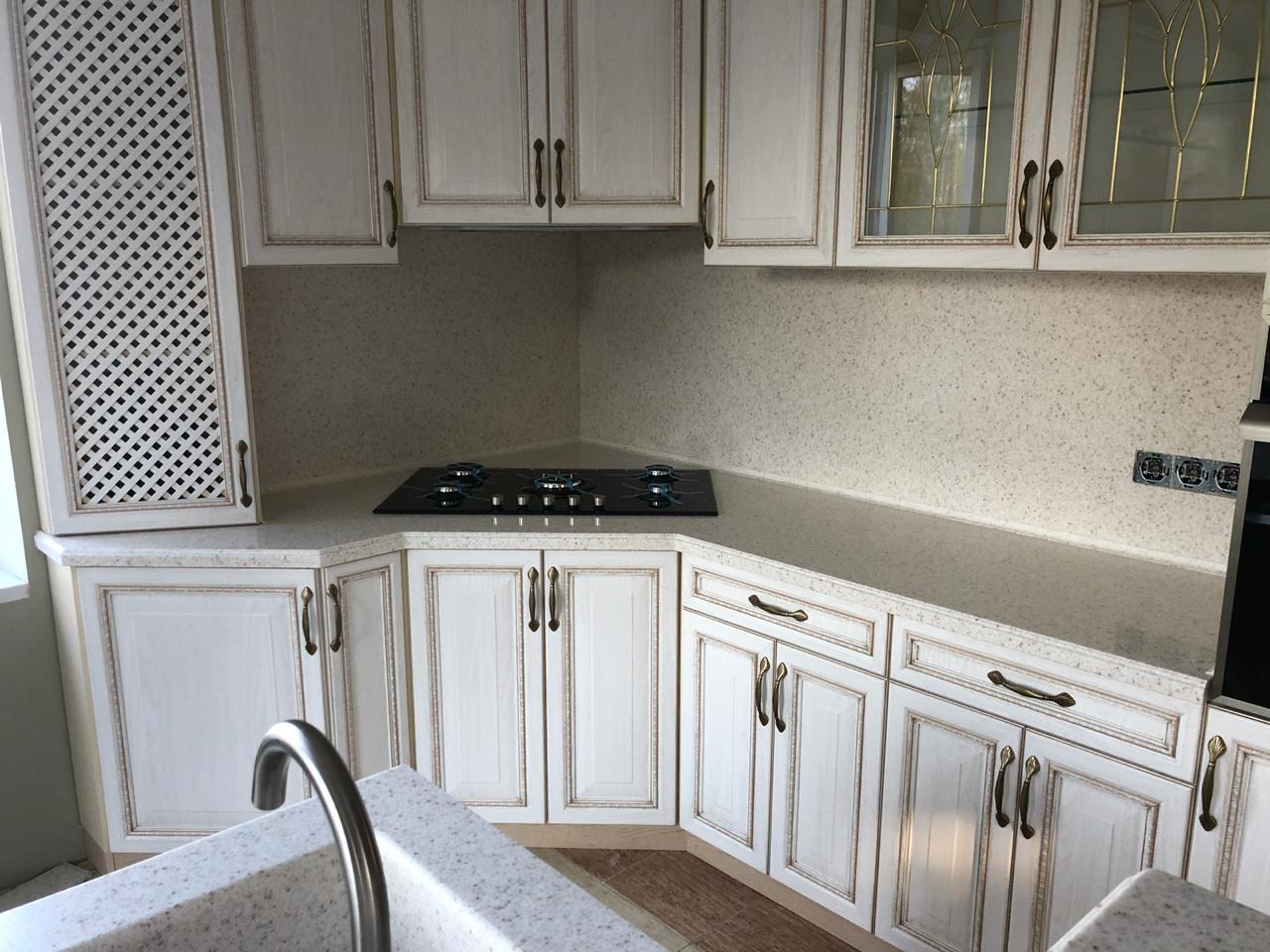 Кухонные панели из камня