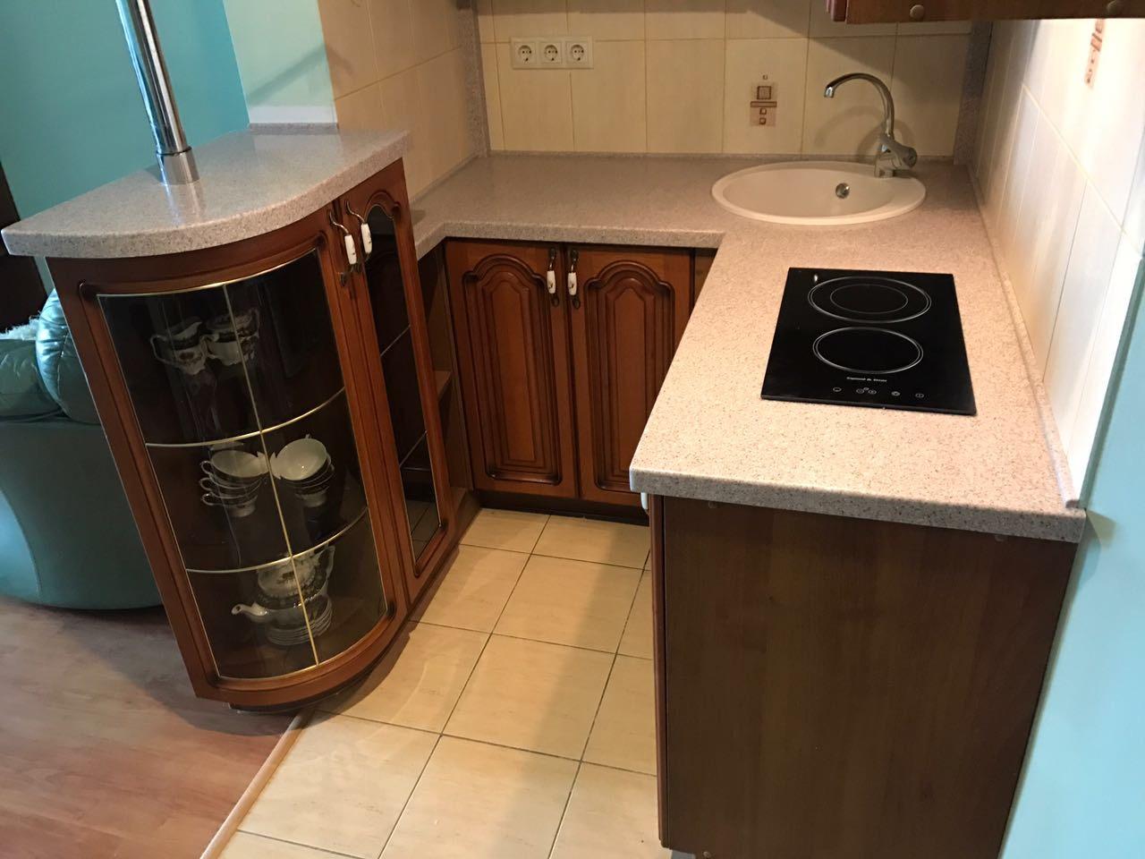 Столешница в маленькую кухню