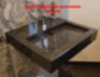 Столешница с интегрированной раковиной