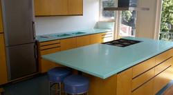 Кухонная столешница с островом