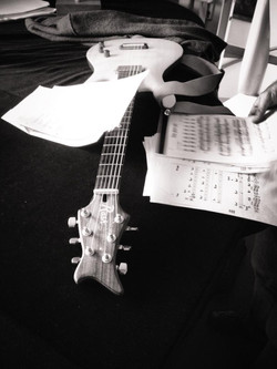 During Demo recording