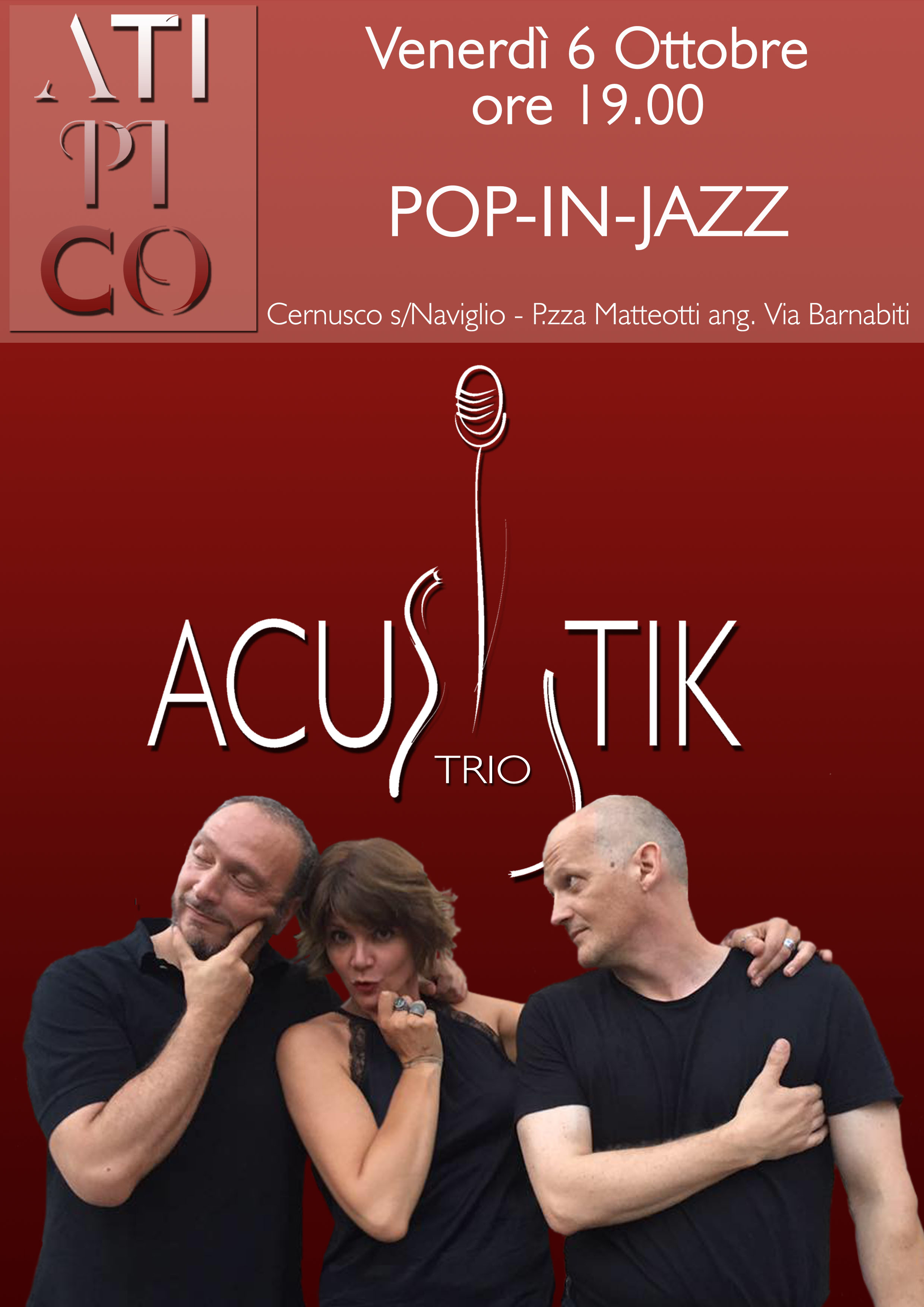 ACUSTIK Trio @ Atipico 2.0