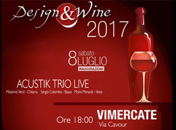 Design&Wine Feat. Acustik Trio