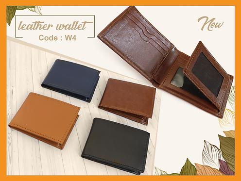 W4 -- Leather Wallet