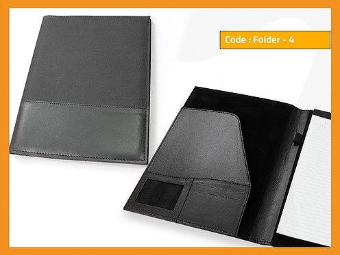 FOLDER 4 -- Leather Folder