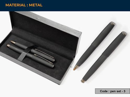 SET PEN 3 -- Set of 2 Metal Pens