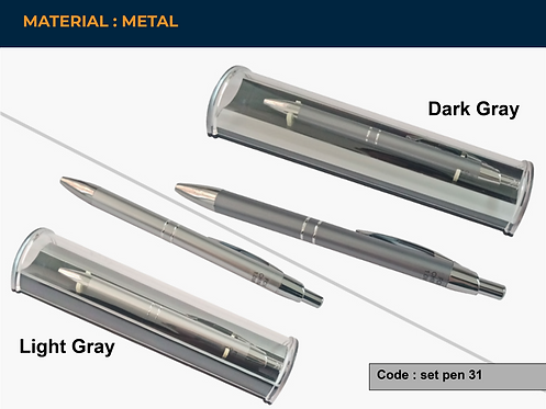 SET PEN 31 -- Special Metal Pen