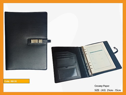 NB-G-35 -- A5 Leather Organizer