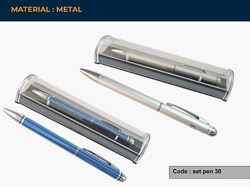 SET PEN 30 -- Metal Pen