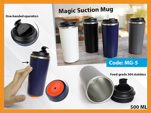 MG-5 -- Large Suction Mug