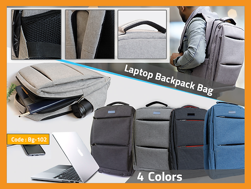 BAG 102 -- Laptop Backpack Bag