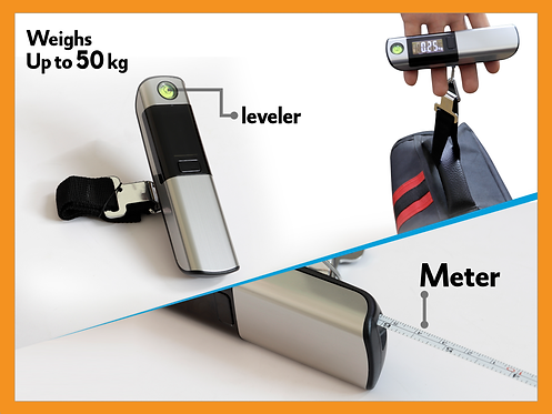 SC METER -- Luggage Scale With Meter