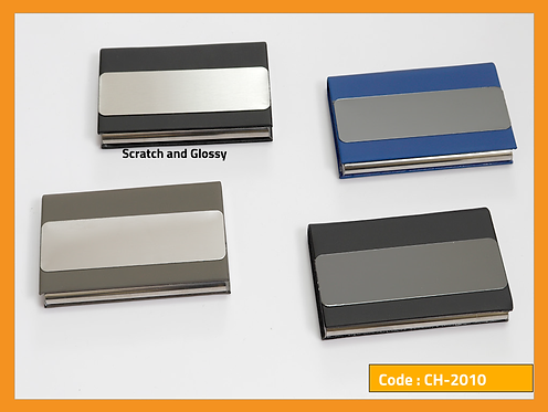 CH-2000+ -- Metal Card Holder Collection 2