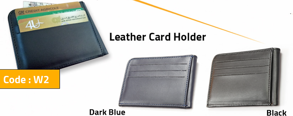 W2 -- Leather Card Holder