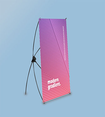 Mini X Banner