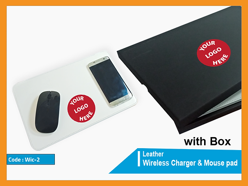 WIC-2 -- Wireless Charger Mouse Pad