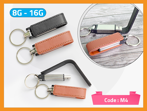 M4 -- Leather Magnetic USB