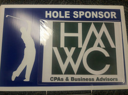 HMWC golf sign
