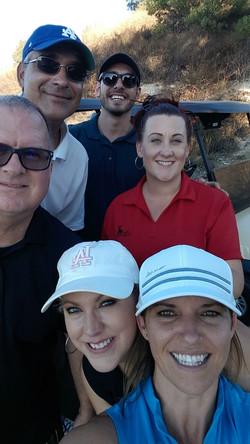 golf team photo