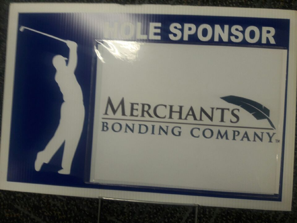 Merchants golf sign