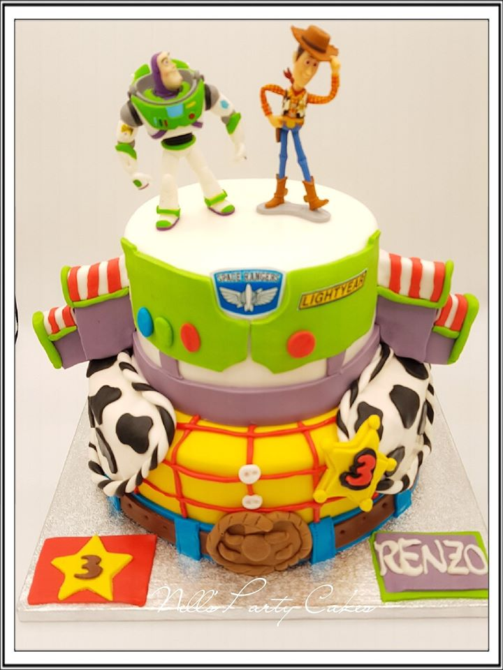 toy story gateau
