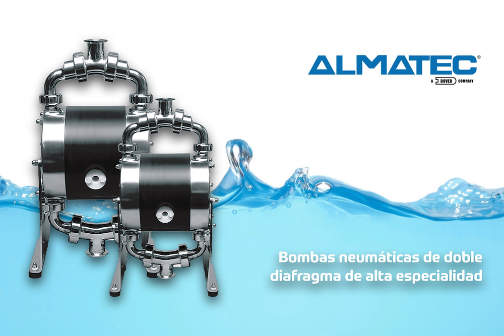 bombas neumáticas de doble diafragma de alta especialidad