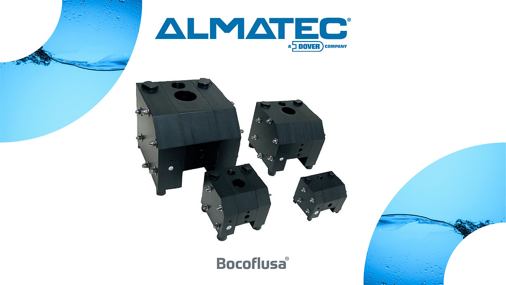 Bomba Almatec de Doble Diafragma Serie CX